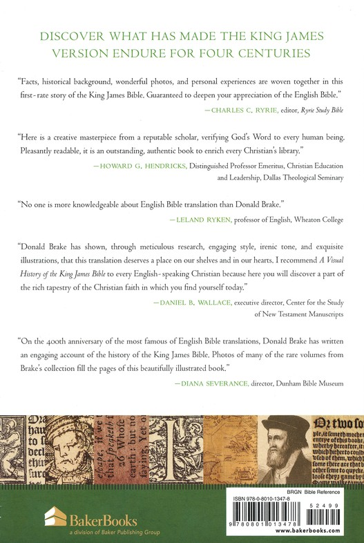 A Visual History of the King James Bible: The Dramatic Tale of